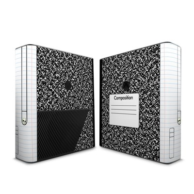 Microsoft Xbox 360 E Skin - Composition Notebook