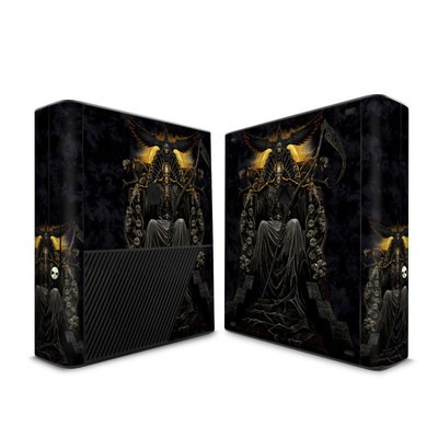 Microsoft Xbox 360 E Skin - Death Throne