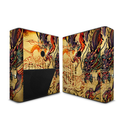 Microsoft Xbox 360 E Skin - Dragon Legend