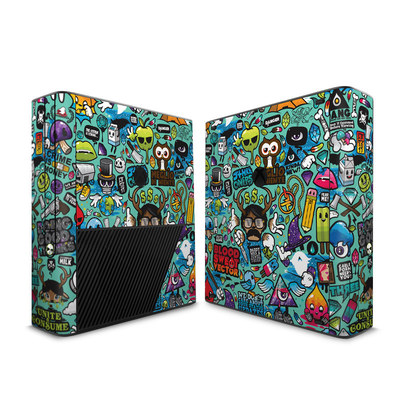 Microsoft Xbox 360 E Skin - Jewel Thief