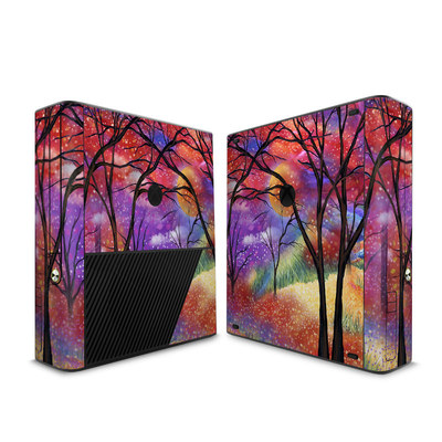 Microsoft Xbox 360 E Skin - Moon Meadow