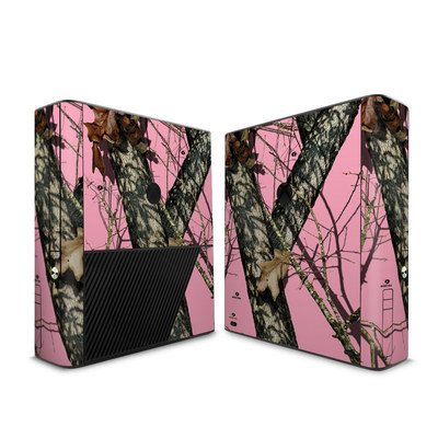 Microsoft Xbox 360 E Skin - Break-Up Pink