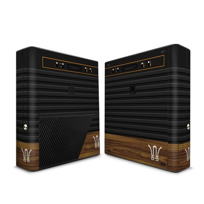Microsoft Xbox 360 E Skin - Wooden Gaming System