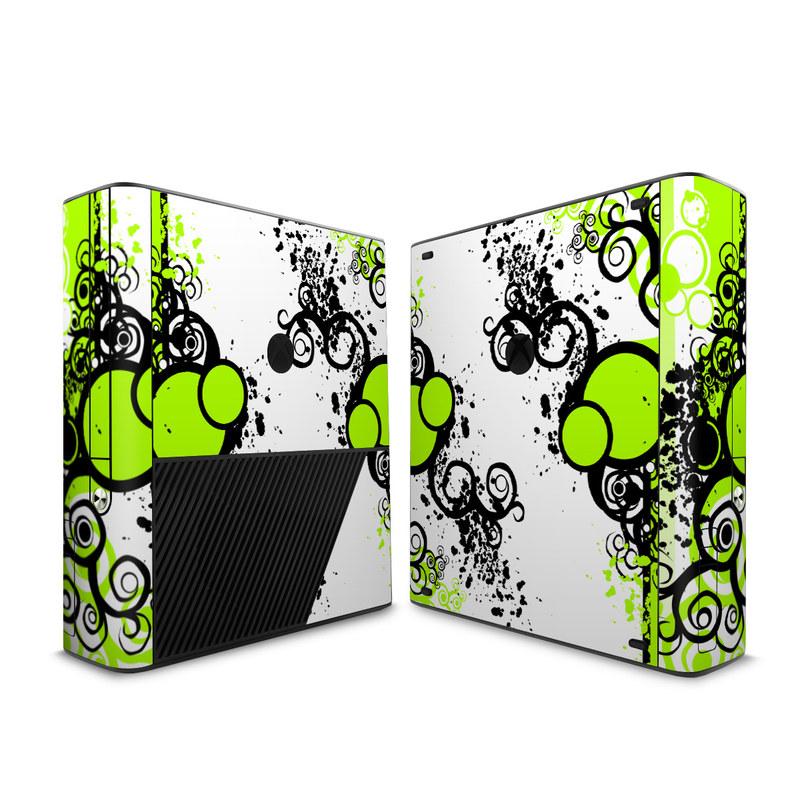 Microsoft Xbox 360 E Skin - Simply Green