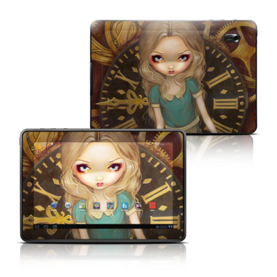 Motorola Xoom Family Edition Skin - Alice Clockwork