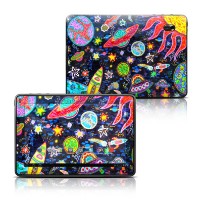 Motorola Xoom Family Edition Skin - Out to Space