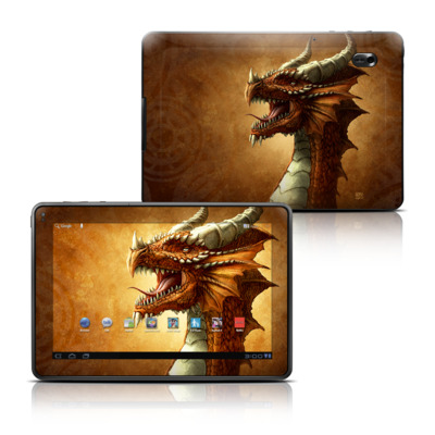 Motorola Xoom Family Edition Skin - Red Dragon