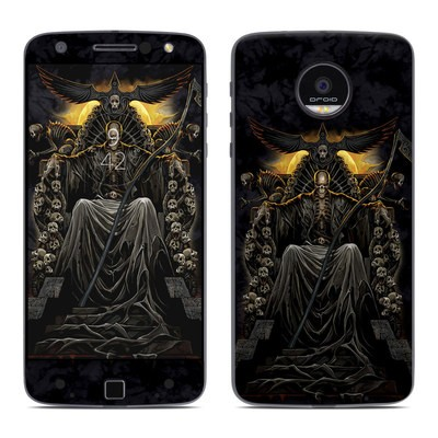 Moto Z Force Droid Skin - Death Throne
