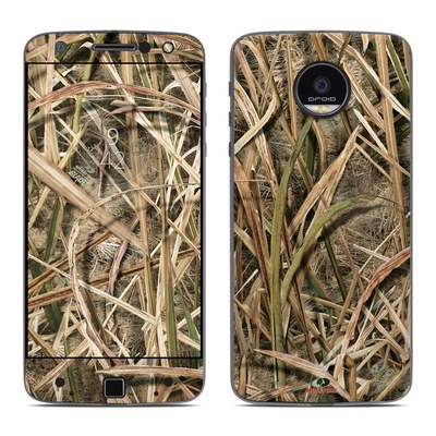 Moto Z Force Droid Skin - Shadow Grass Blades