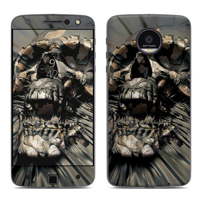 Moto Z Force Droid Skin - Skull Wrap
