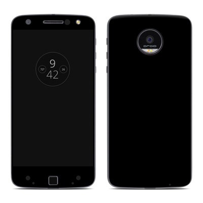 Moto Z Force Droid Skin - Solid State Black