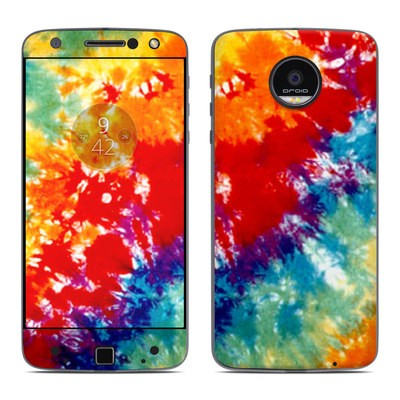 Moto Z Force Droid Skin - Tie Dyed