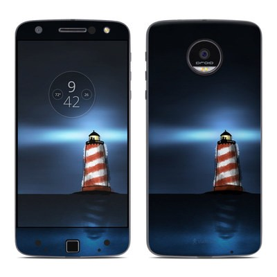Moto Z Force Droid Skin - Two And The Lighthouse