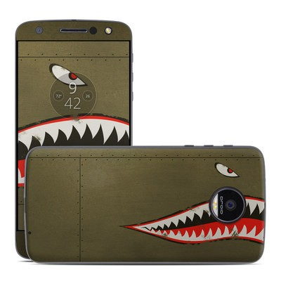 Moto Z Force Droid Skin - USAF Shark