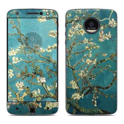 Moto Z Force Droid Skin - Blossoming Almond Tree