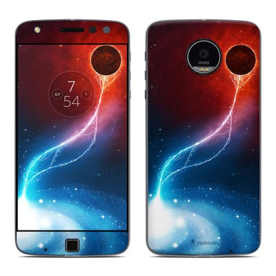 Moto Z Play Droid Skin - Black Hole