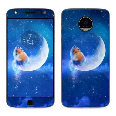 Moto Z Play Droid Skin - Moon Fox