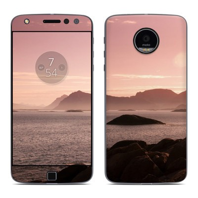 Moto Z Play Droid Skin - Pink Sea