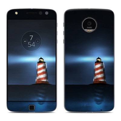 Moto Z Play Droid Skin - Two And The Lighthouse