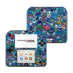Nintendo 2DS Skin - Cosmic Ray