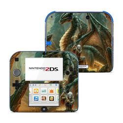 Nintendo 2DS Skin - Dragon Mage