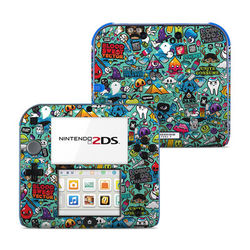 Nintendo 2DS Skin - Jewel Thief