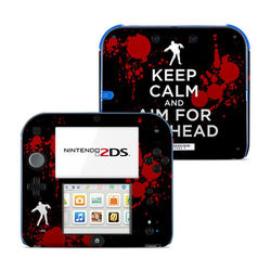 Nintendo 2DS Skin - Keep Calm - Zombie
