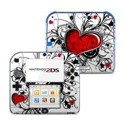 Nintendo 2DS Skin - My Heart