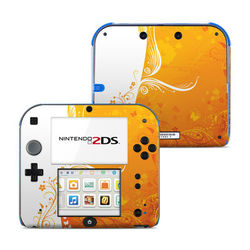 Nintendo 2DS Skin - Orange Crush
