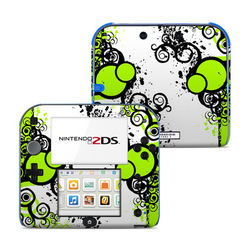 Nintendo 2DS Skin - Simply Green
