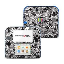 Nintendo 2DS Skin - TV Kills Everything
