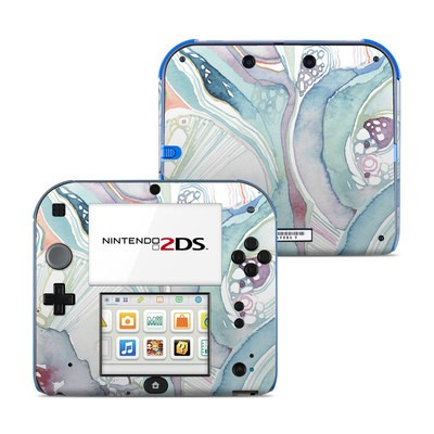 Nintendo 2DS Skin - Abstract Organic