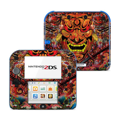 Nintendo 2DS Skin - Asian Crest