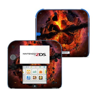 Nintendo 2DS Skin - Aftermath