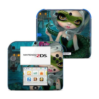 Nintendo 2DS Skin - Alligator Girl
