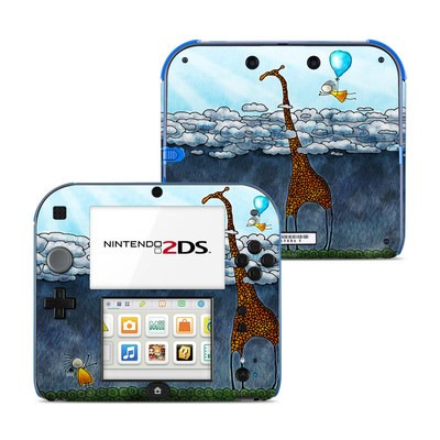 Nintendo 2DS Skin - Above The Clouds