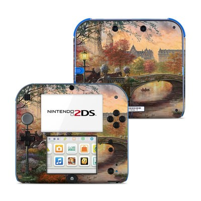 Nintendo 2DS Skin - Autumn in New York