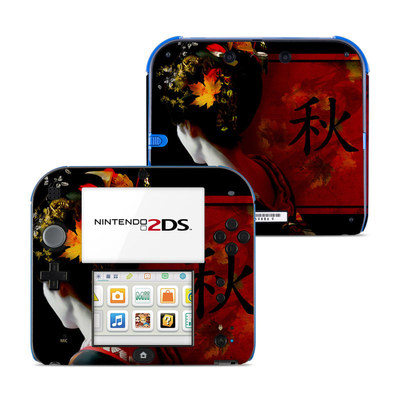 Nintendo 2DS Skin - Autumn