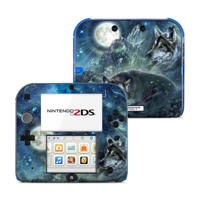 Nintendo 2DS Skin - Bark At The Moon