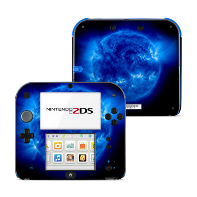 Nintendo 2DS Skin - Blue Giant
