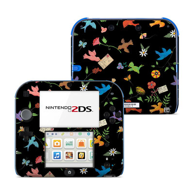 Nintendo 2DS Skin - Birds