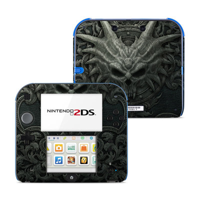 Nintendo 2DS Skin - Black Book