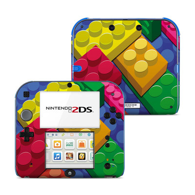 Nintendo 2DS Skin - Bricks