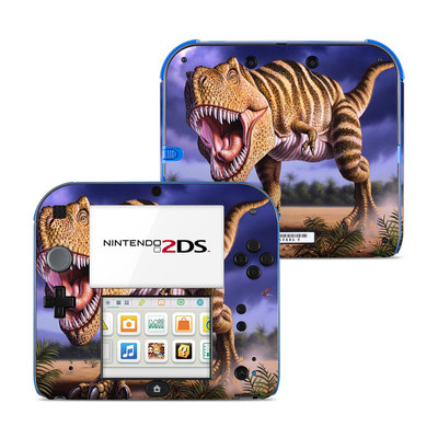 Nintendo 2DS Skin - Brown Rex