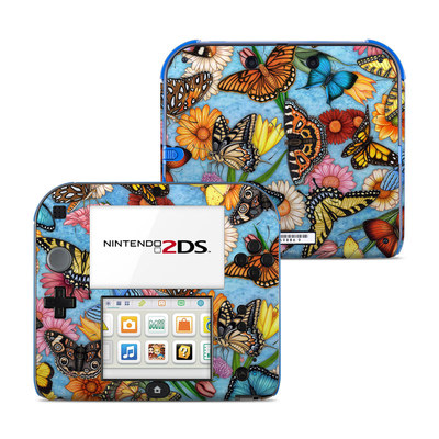 Nintendo 2DS Skin - Butterfly Land