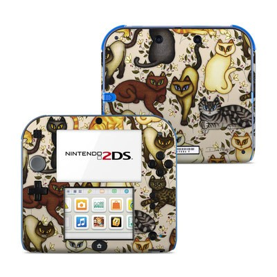 Nintendo 2DS Skin - Cats