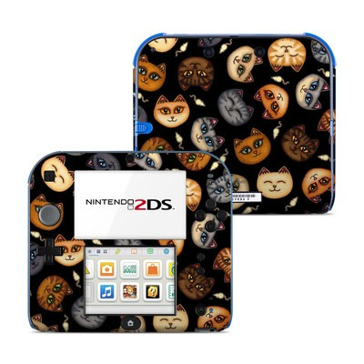 Nintendo 2DS Skin - Cat Faces