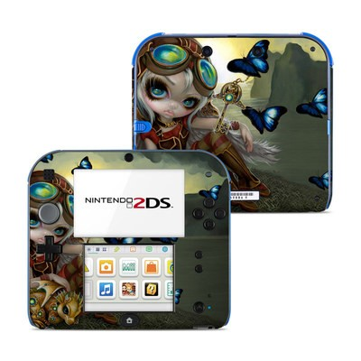 Nintendo 2DS Skin - Clockwork Dragonling