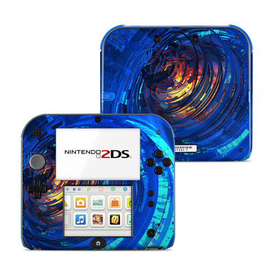 Nintendo 2DS Skin - Clockwork