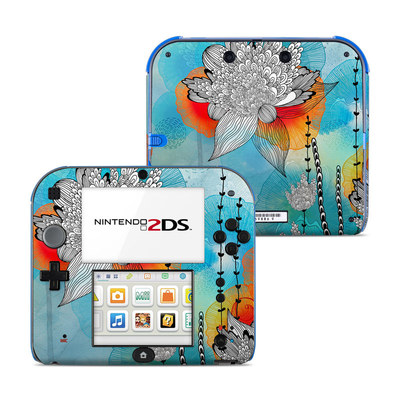 Nintendo 2DS Skin - Coral